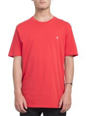 T-Shirt Man Stone Blank red