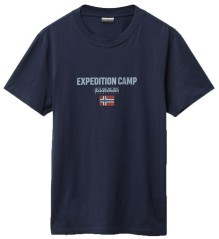 T-shirt Uomo Sonthe Expedition bianco