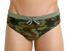 Man Costume Camouflage green