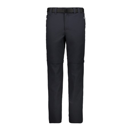 Pantaloni Trekking Uomo Stretch Zip Off beige