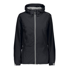 Jacket Hiking Women's Rain Fix +6 black