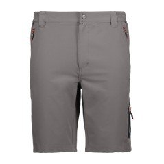 Shorts Trekking Herren-Stretch-blau