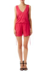 Playsuit Women Short Jersey pink