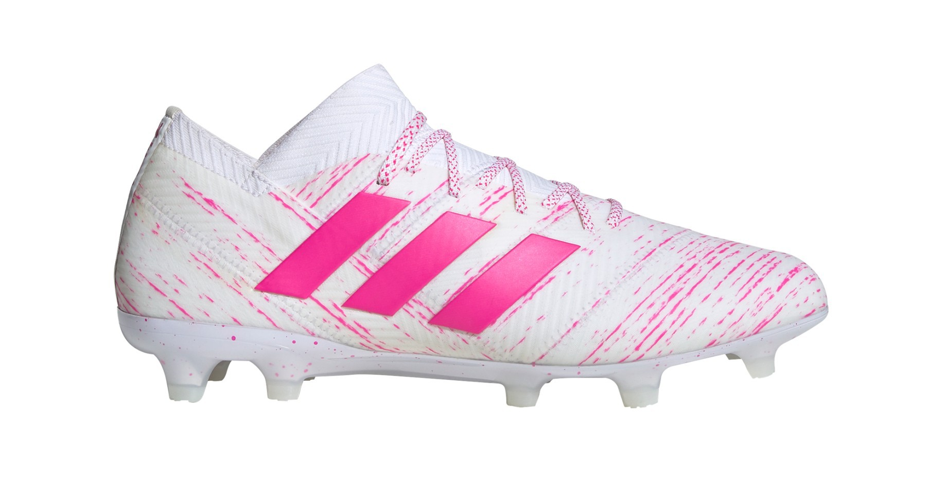seta pollo alquitrán  Adidas Football boots Nemeziz 18.1 FG Up of the Pack colore White Pink -  Adidas - SportIT.com