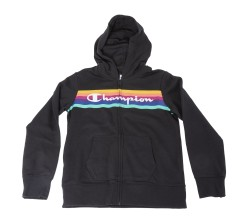 Sweat-Shirt Fille Arc-En-Ciel Full Zip Hoody
