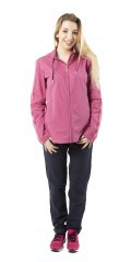 Tuta Donna Lady Easy Full Zip Bandata