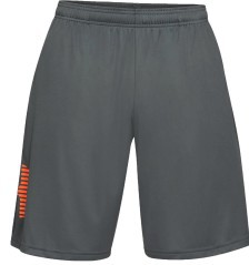 Short Herren Tech Graphic grau orange
