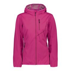 Giacca Trekking Donna Extra Light SoftShell viola
