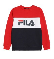 Felpa Junior Block Crew Sweat
