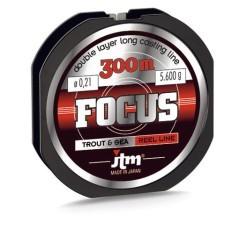 Monofilo Focus 300 m, JTM, Daiwa,