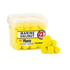 Boilies Pellets Pop-Up Fluro Marine Halibut 22 mm