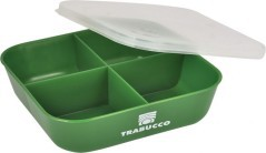 Bait Box 4 Dividers Green