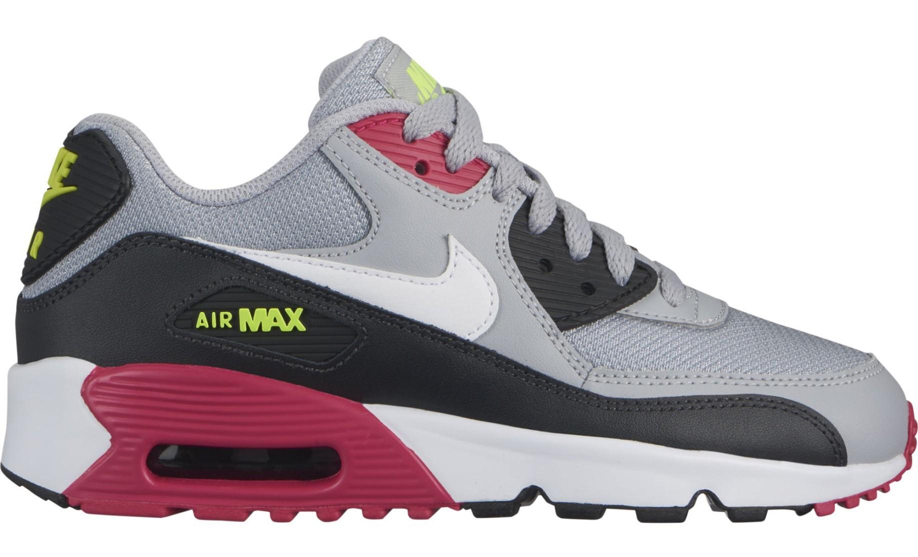 air max 90 grigio nero