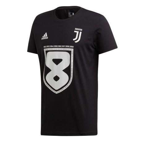 T-Shirt Celebrativa Juve 8 Scudetti jr
