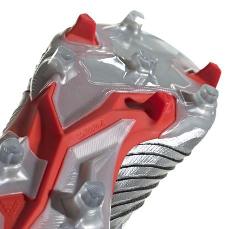 calcio ADIDAS scarpe da calcio predator 19.1 fg argento nero