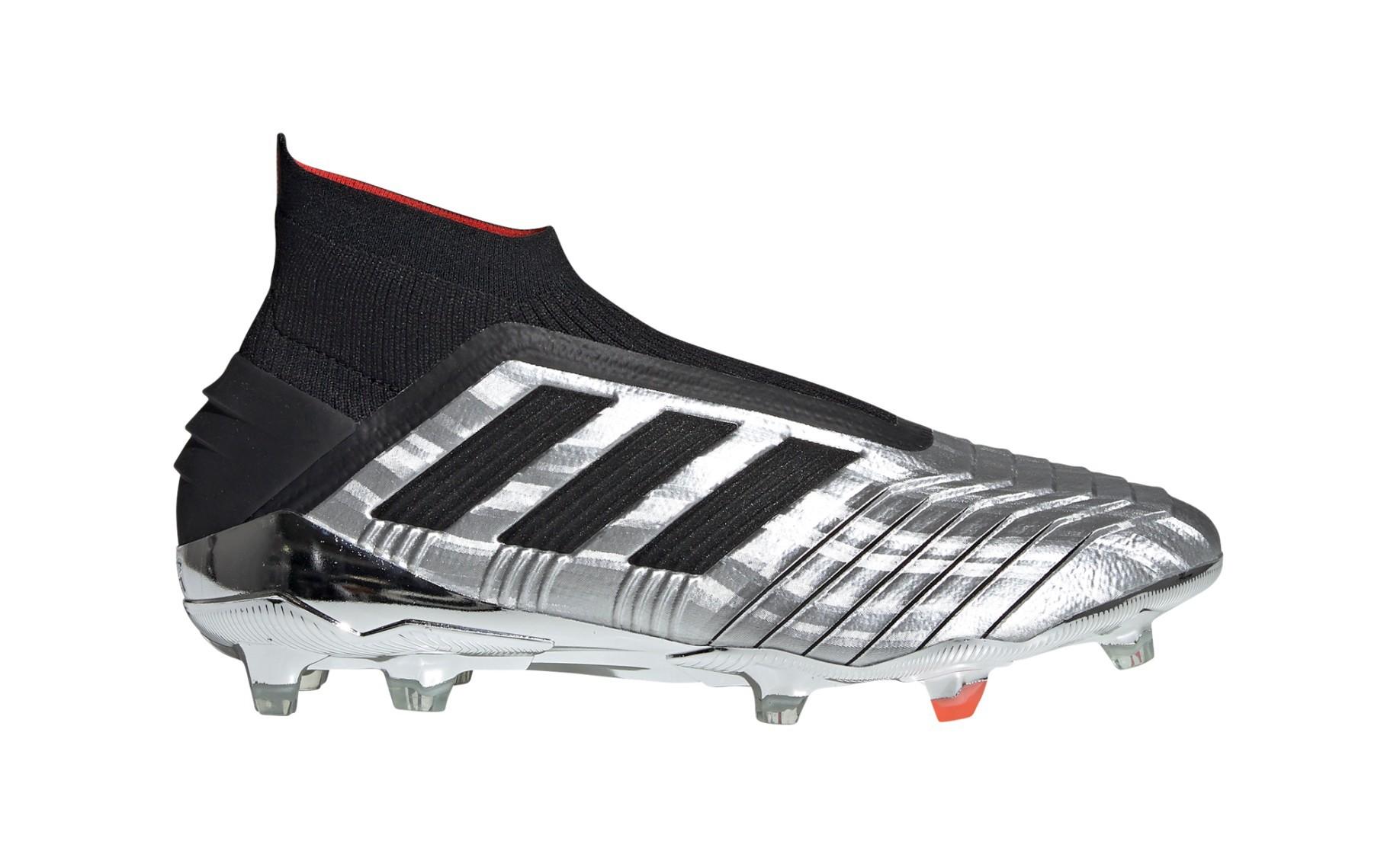 96bca2e4cd Botas de Fútbol Adidas Predator 19+ FG Redirección 302 Pack colore plata  negro - Adidas - SportIT.com