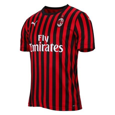 Football Jersey Baby Ac Milan Home 19 20 Colore Red Black Puma Sportit Com