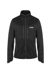 Jacket Hiking Men black Stretch Waterproof
