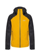 Men's jacket Waterproof Reflective yellow black