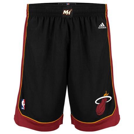 wholesale dealer 9b3f8 e13e6 Short official NBA Miami Heat colore Black Red - Adidas - SportIT.com