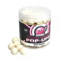 Boilies White Banoffe 15 mm