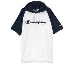 Sweatshirt short Sleeves Men's Classic white blue