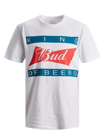 T-shirt Uomo Bud King Of The Beer