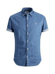 Man Shirt Denim M/C