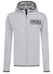 Men's sweatshirt Train Visibility Gray-variante1 in front of