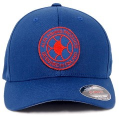 Cappello Logo Flexfit Patch blu