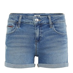 Short Jeans Donna Distressed Classic