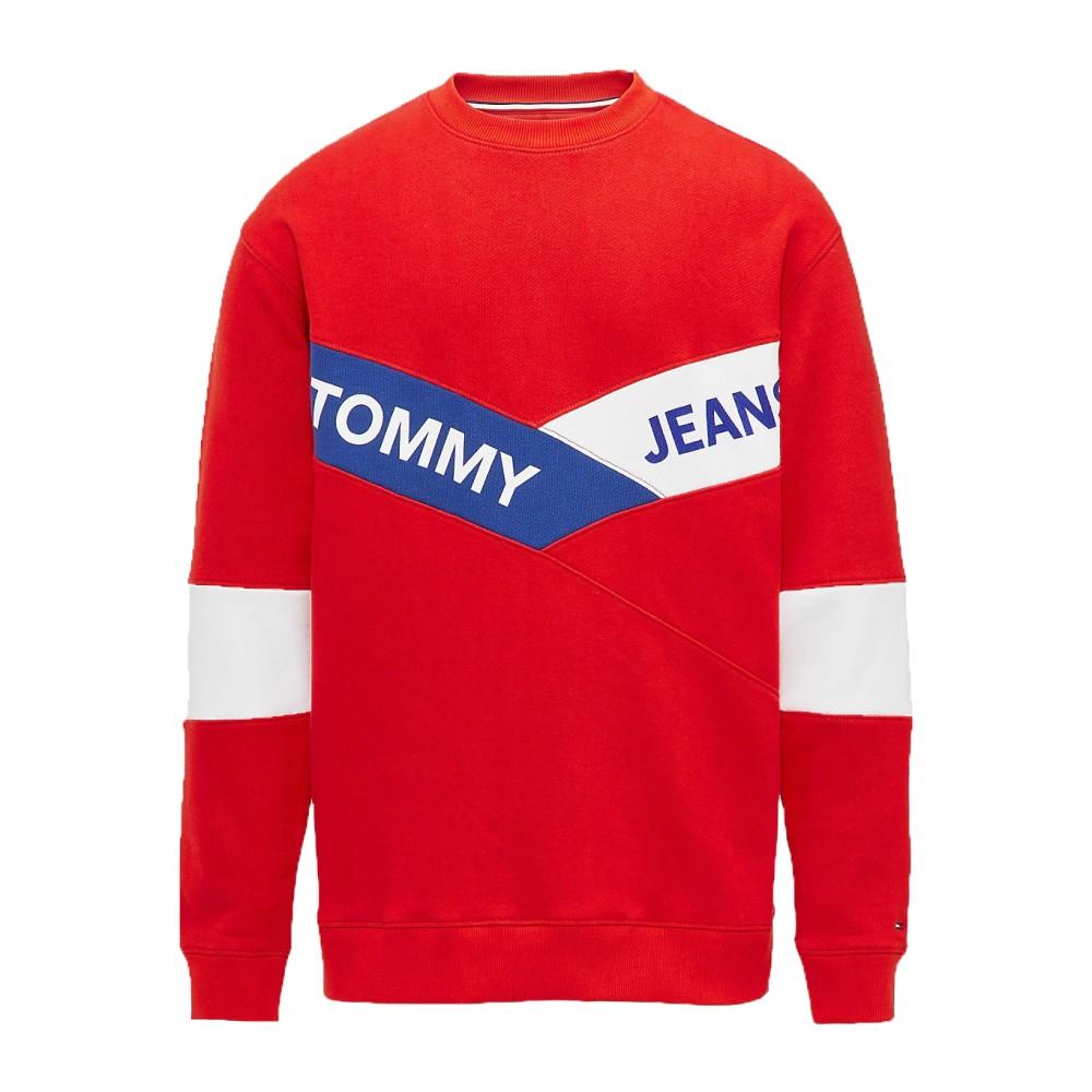 Felpa-Uomo-Chevron-Tommy-Jeans