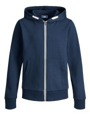 Felpa Junior Jeholmes Zip blu davanti