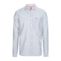 Man Shirt Seersucker M/L