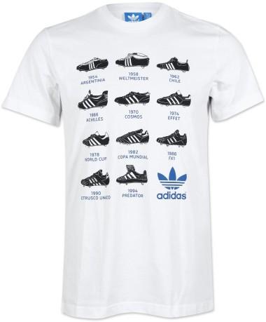 adidas t shirt uomo bianco