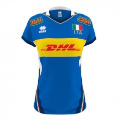 T-Shirt Bambina Nazionale Volley Replica AD 18/19