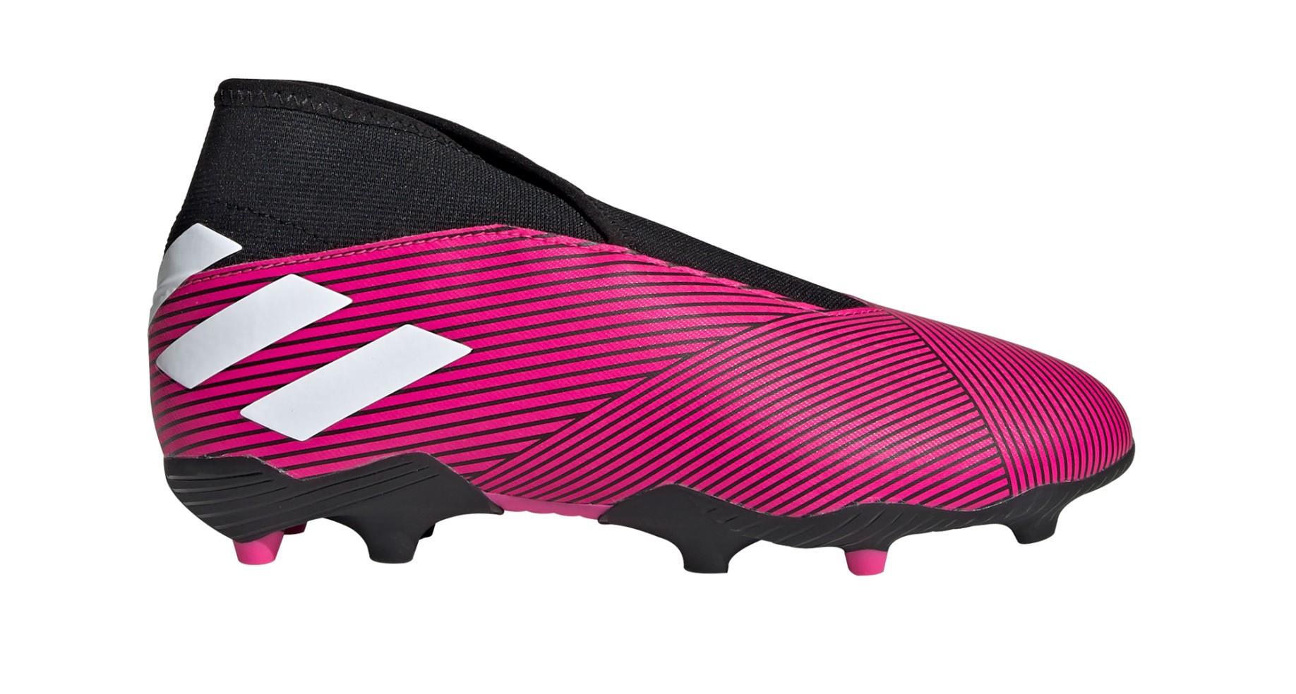 Chaussures de football Garçon Adidas Nemeziz 19.3 LL FG Câblé Pack