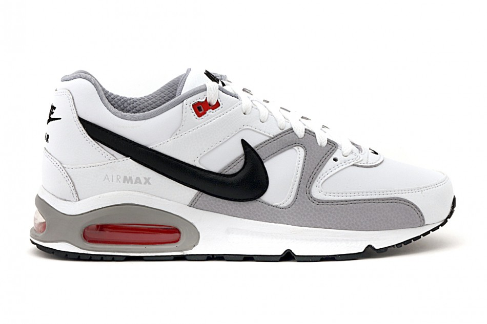 sports shoes 93aca 3d7c1 Mens shoes Air Max Command Leather colore White Black - Nike - SportIT.com