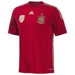 Prima maglia ufficiale Spagna Home