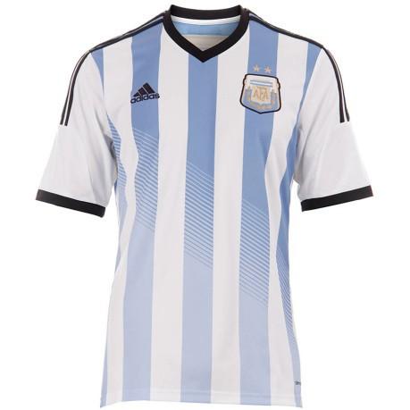 8af82a679a Prima maglia ufficiale Argentina Mondiali 2014