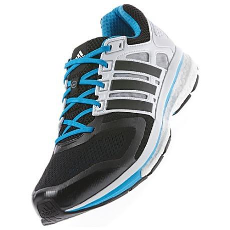 3998d3125c0f1 Mens shoes Supernova Glide 6 Boost colore Black White - Adidas ...