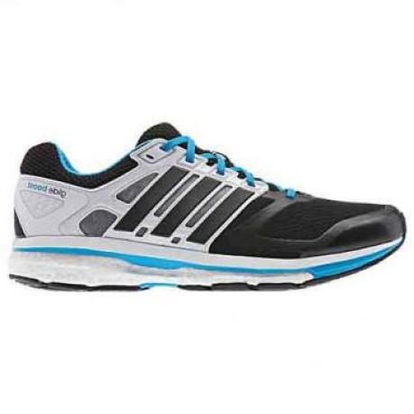 19bbb8f68563c Mens shoes Supernova Glide 6 Boost colore Black White - Adidas ...