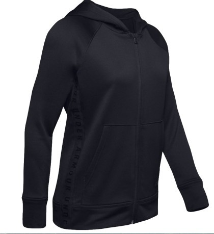 Kapuzenjacke Damen Tech Terry lila vor