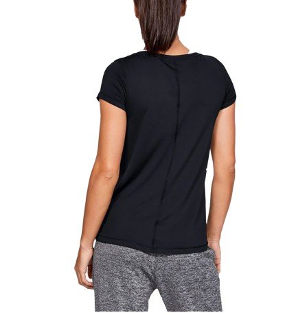 T-Shirt HeatGear Armour black at the front