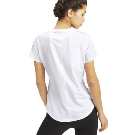 T-Shirt Donna PUMA Cat bianco
