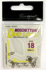 Moschettone Duo Lock