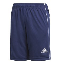 Short Junior Training Core 18 BTS blu bianco