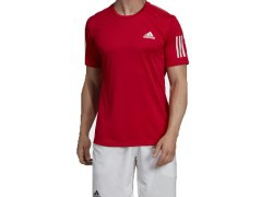 Men's T-Shirt 3Stripes Club Front Red