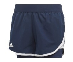 Short Bambino Girls Club Frontale Blu