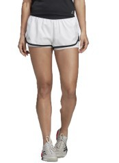 Short Woman Club Front White